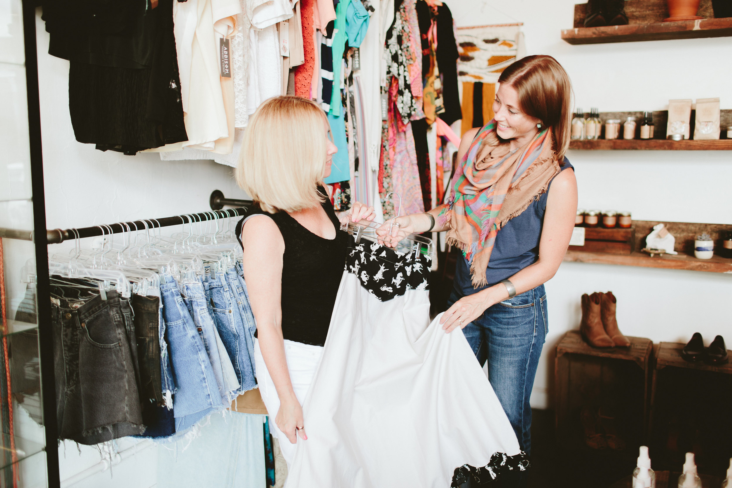 20 PERCENT - The average percent of a woman's wardrobe that goes unworn. That's one in every 4 pieces that never sees the light of day.