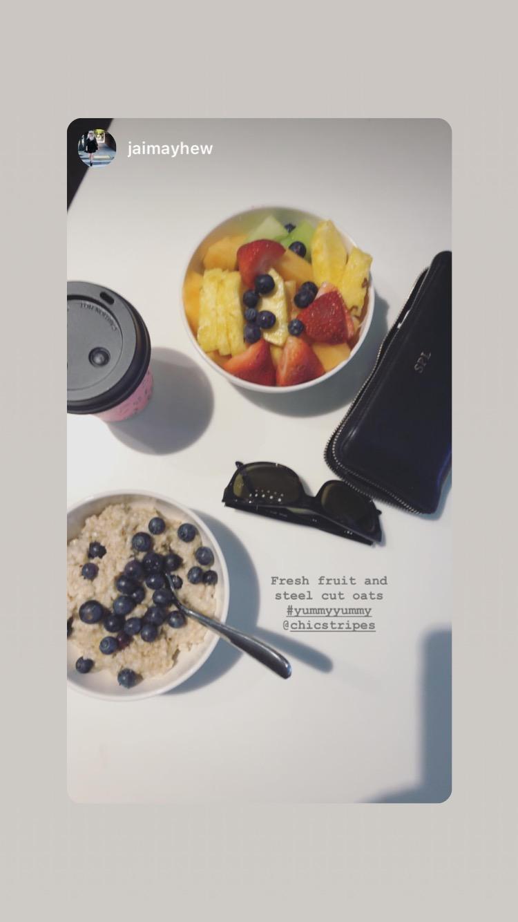 chic stripe graduate richmond breakfast