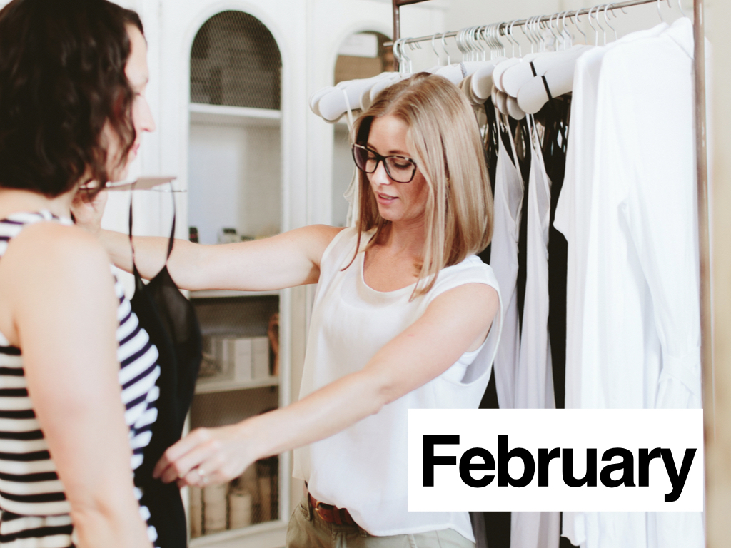 - 1. Industry Expert Call: Rosana of DC Style Factory2. Hot Seat Coaching Call: Virtual Styling Qs3. Facebook Live: Intro to Virtual Styling Training4. The Founders Club 2019 Promo Calendar5. The Founders Club Monthly Income Goals