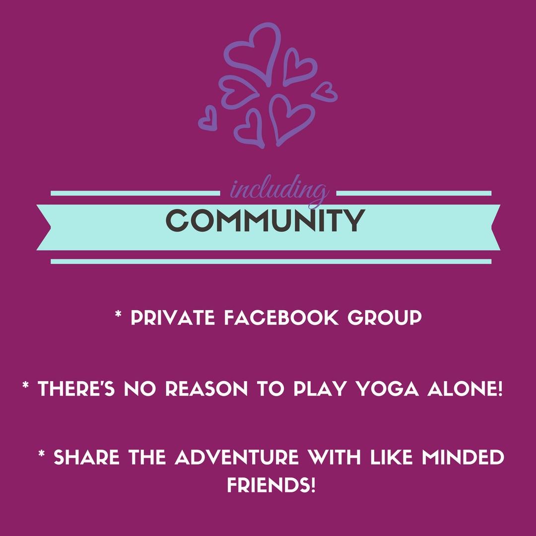 facebook yoga group irena