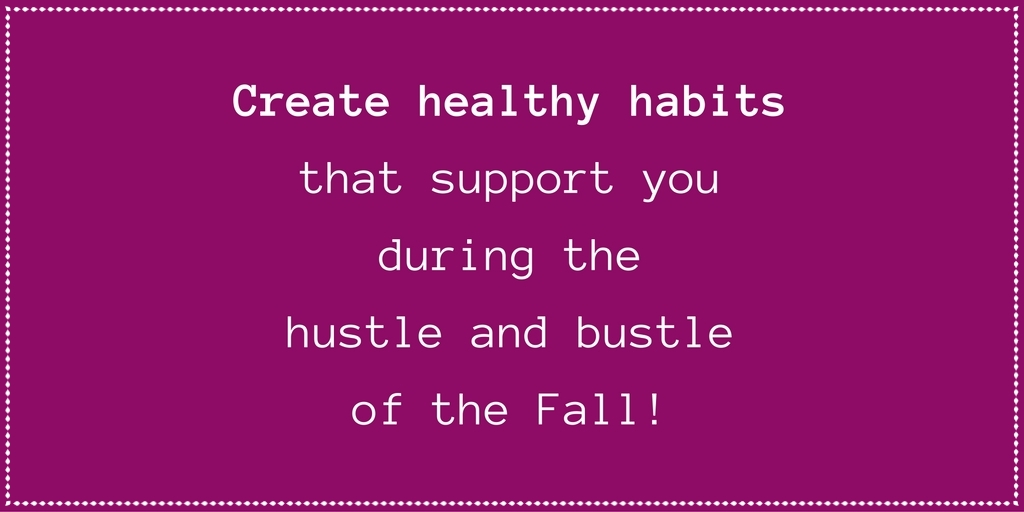 healthy habits with irena