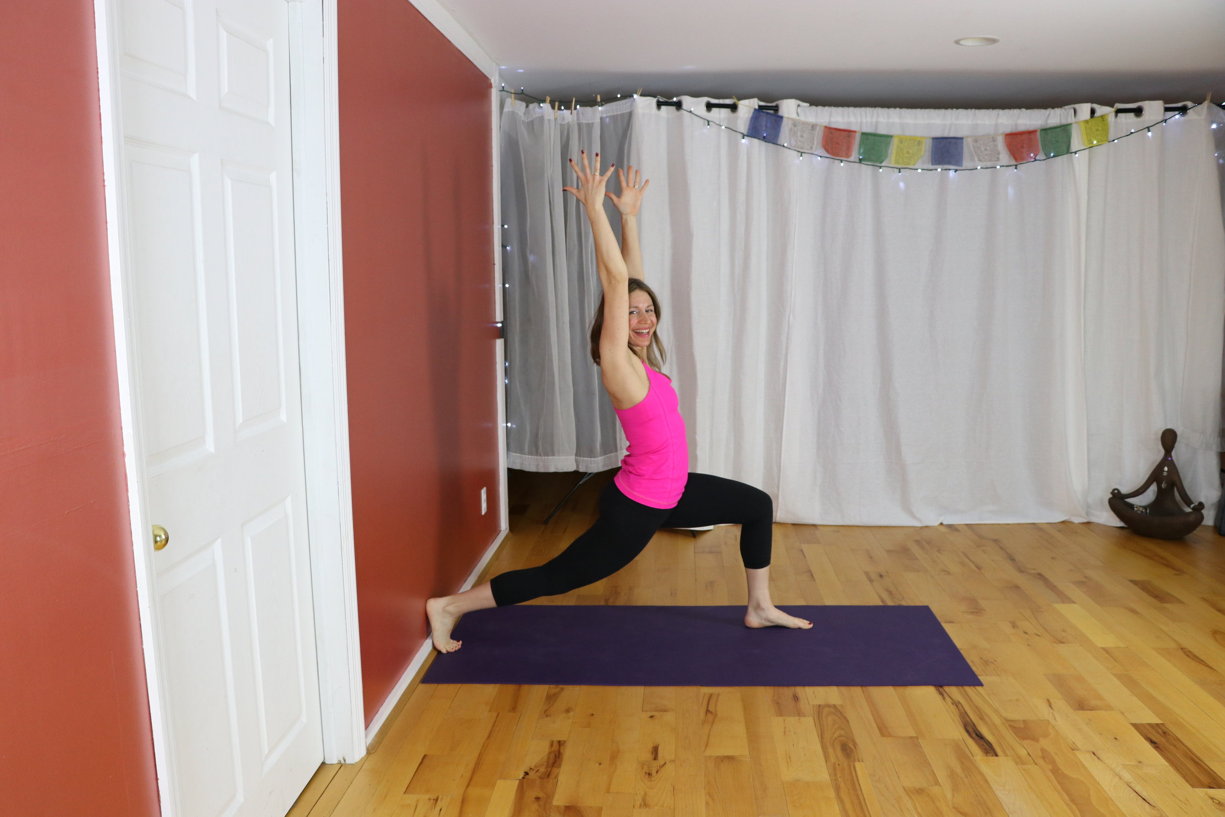 Happy Back Yoga with Irena, Feel better in 15 minutes with 5 simple yoga poses.  www.irenamiller.com