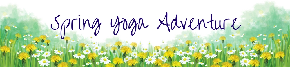Lighter, brighter, and energized with the 5-day Spring Yoga Challenge. www.irenamiller.com/spring-yoga