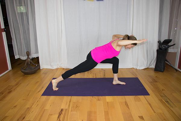 Yoga for Core and Upper Back Strength. www.irenamiller.com