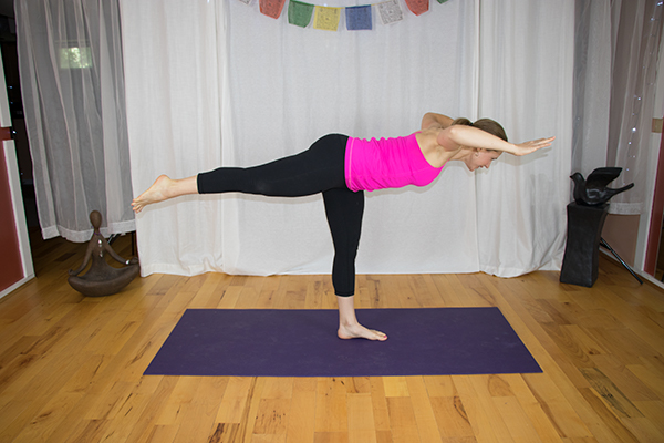 Yoga for a Strong Core and Back and Legs. www.irenamiller.com