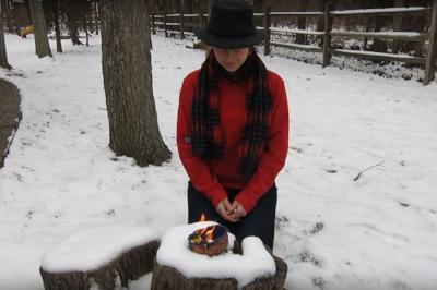 Burning Bowl Ceremony with Irena Miller www.irenamiller.com