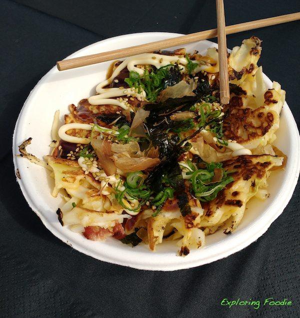 Okonomiyaki- Japanese street food by Kuma