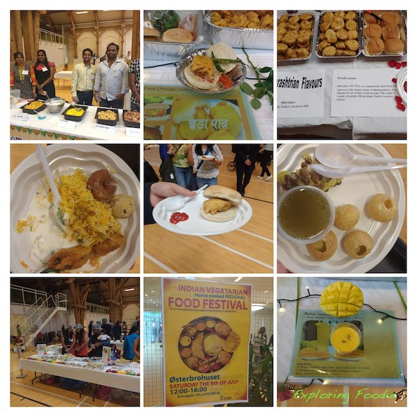 Indian Vegetarian (Home Cooked) Regional Food Festival highlights