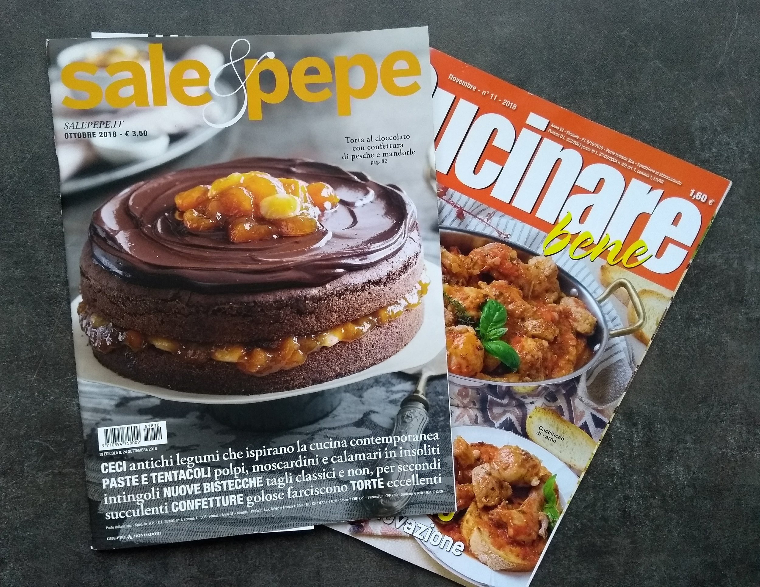 Italian food magazines    (It seems I am starting new collection)