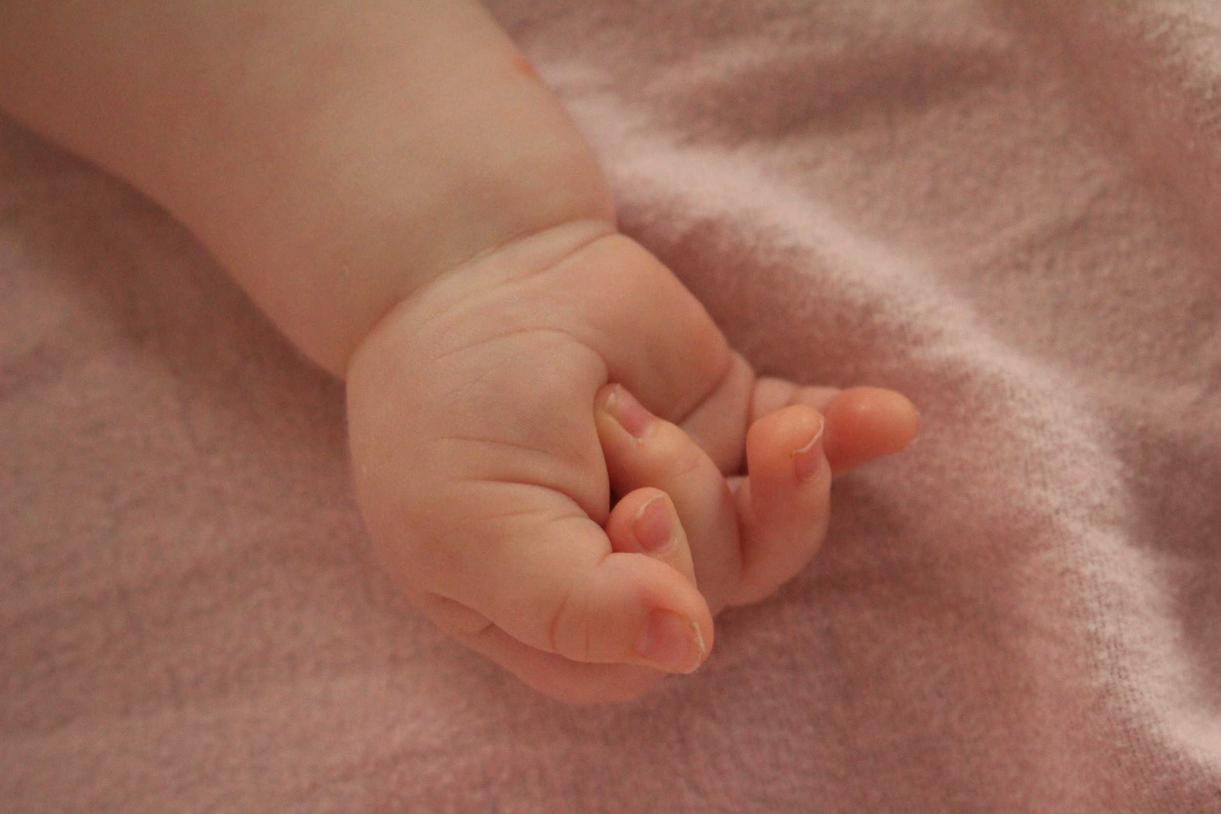 Baby Hand Birth Toronto Doula