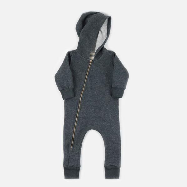Mini Mioche, Toronto, Lightweight Fleece Biker Romper, $60, available  HERE .