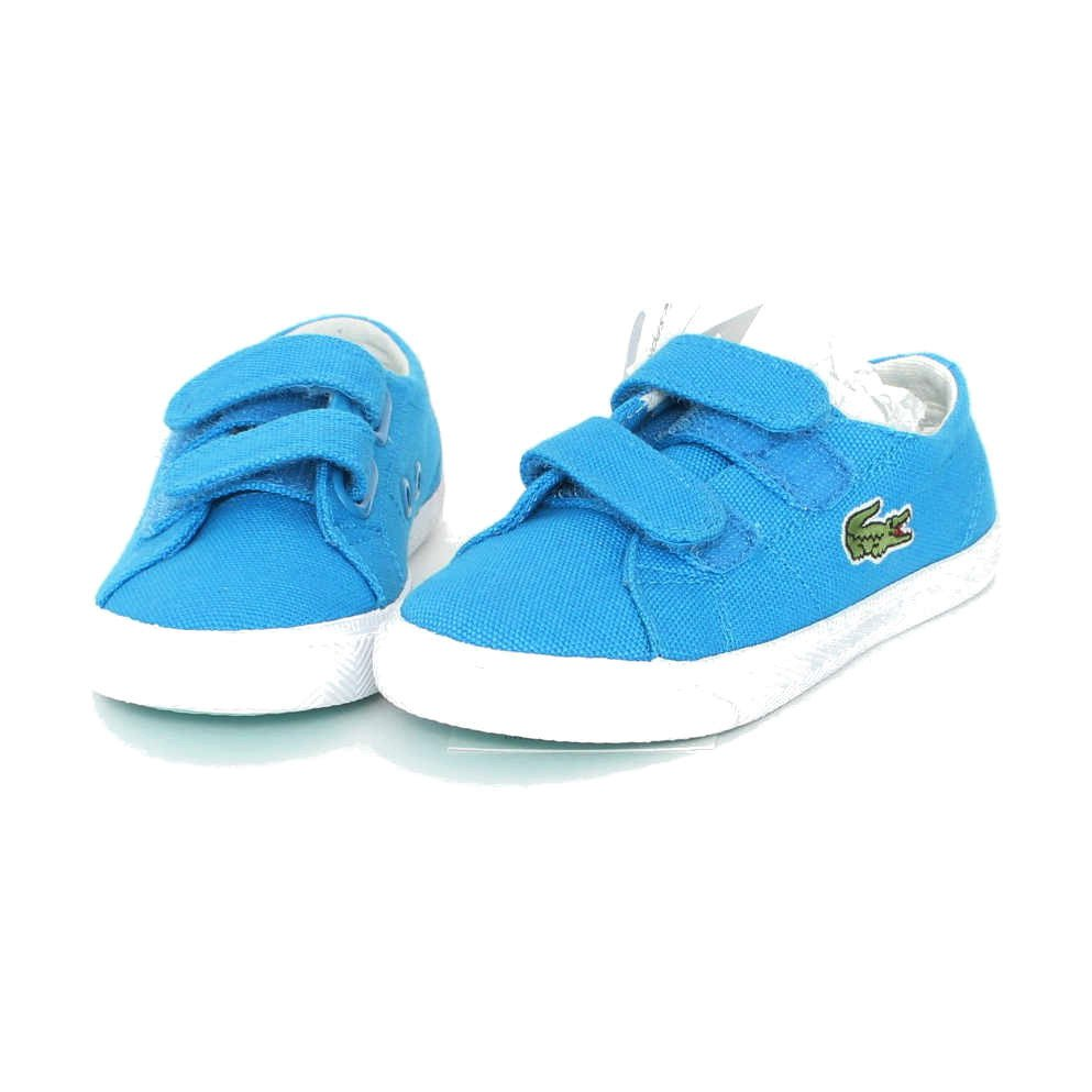 Little White Sneakers, Toronto, Blue Lacoste Shoes, Practically New, $40.00, available  HERE .