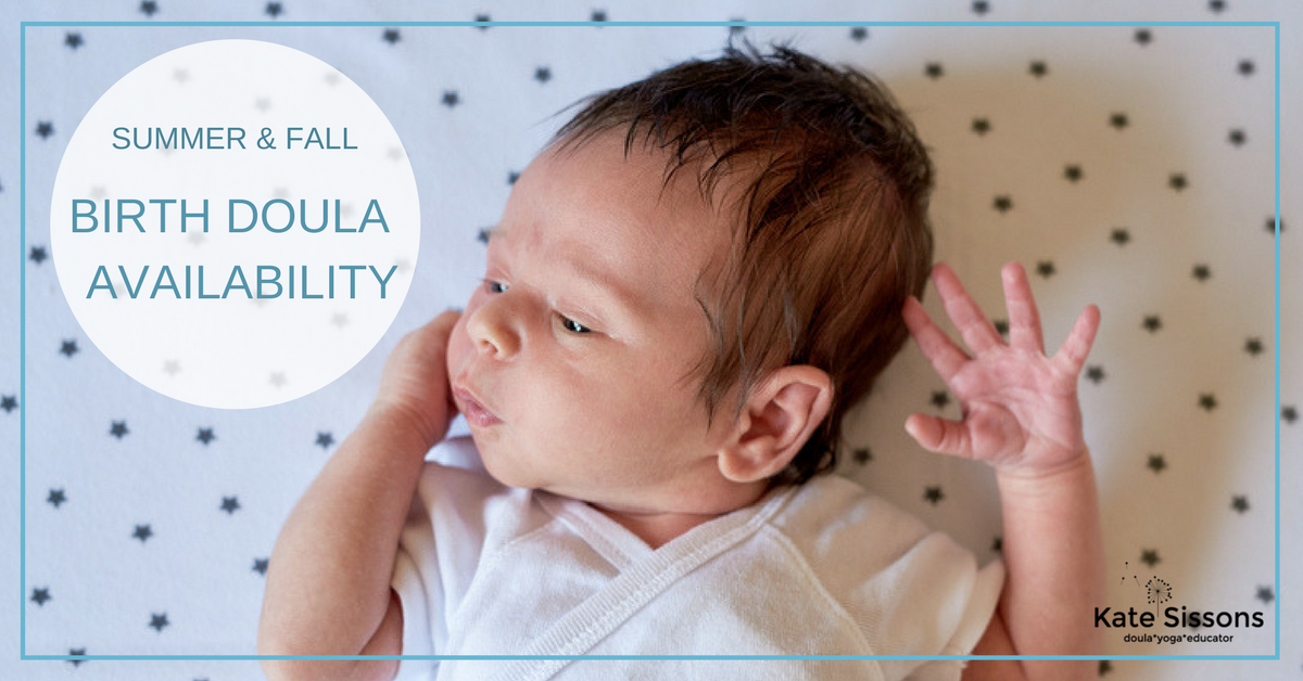 newborn birth doula availability Toronto