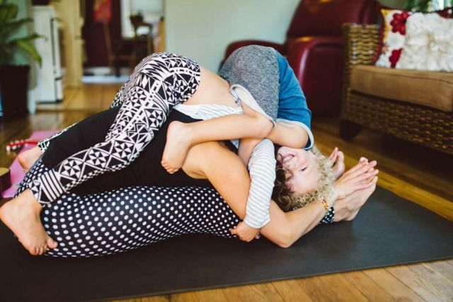 best yoga for parents doula
