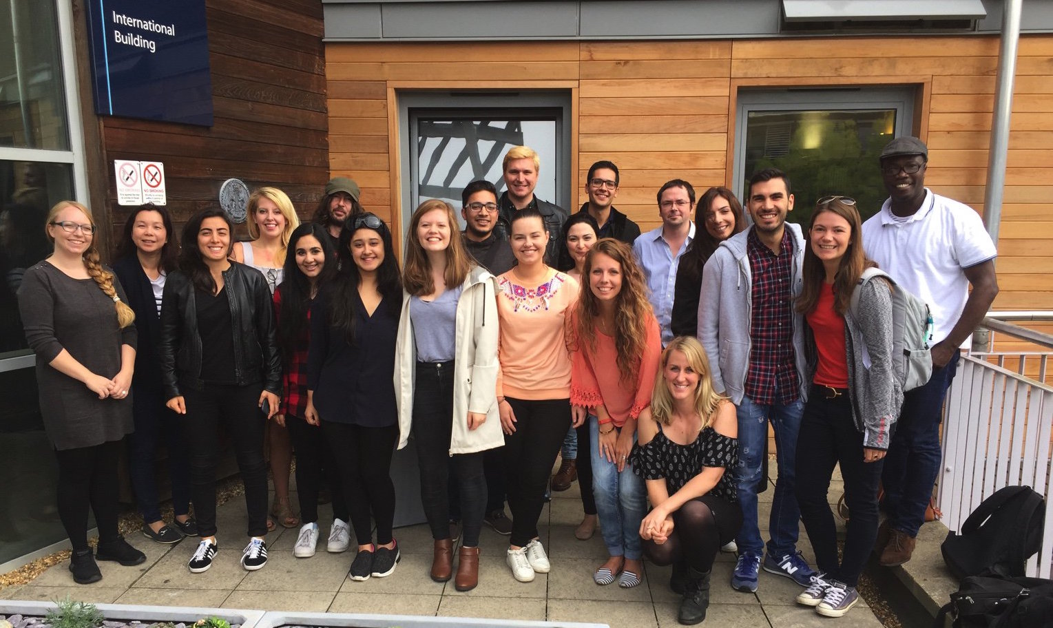 Students on the 2016-2017 MSc Media, Power, and Public Affairs
