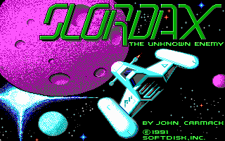 80249-slordax-the-unknown-enemy-dos-screenshot-title-screen.png