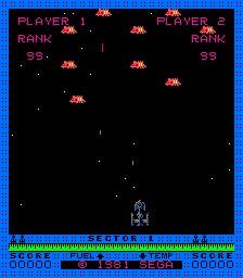 The original shooter, Astro-Blaster!