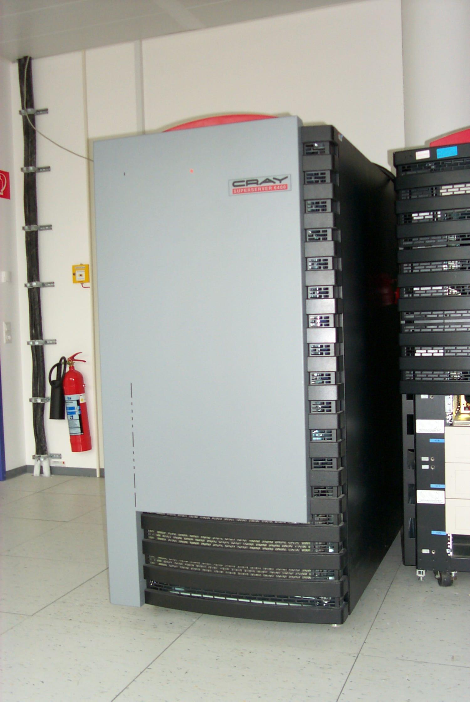 Quake Cray 6400