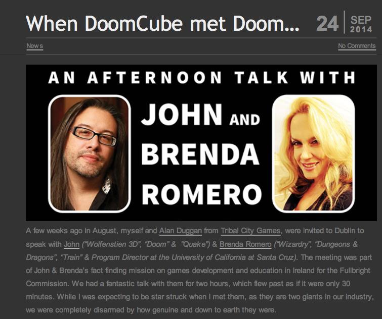 When DoomCube met Doom