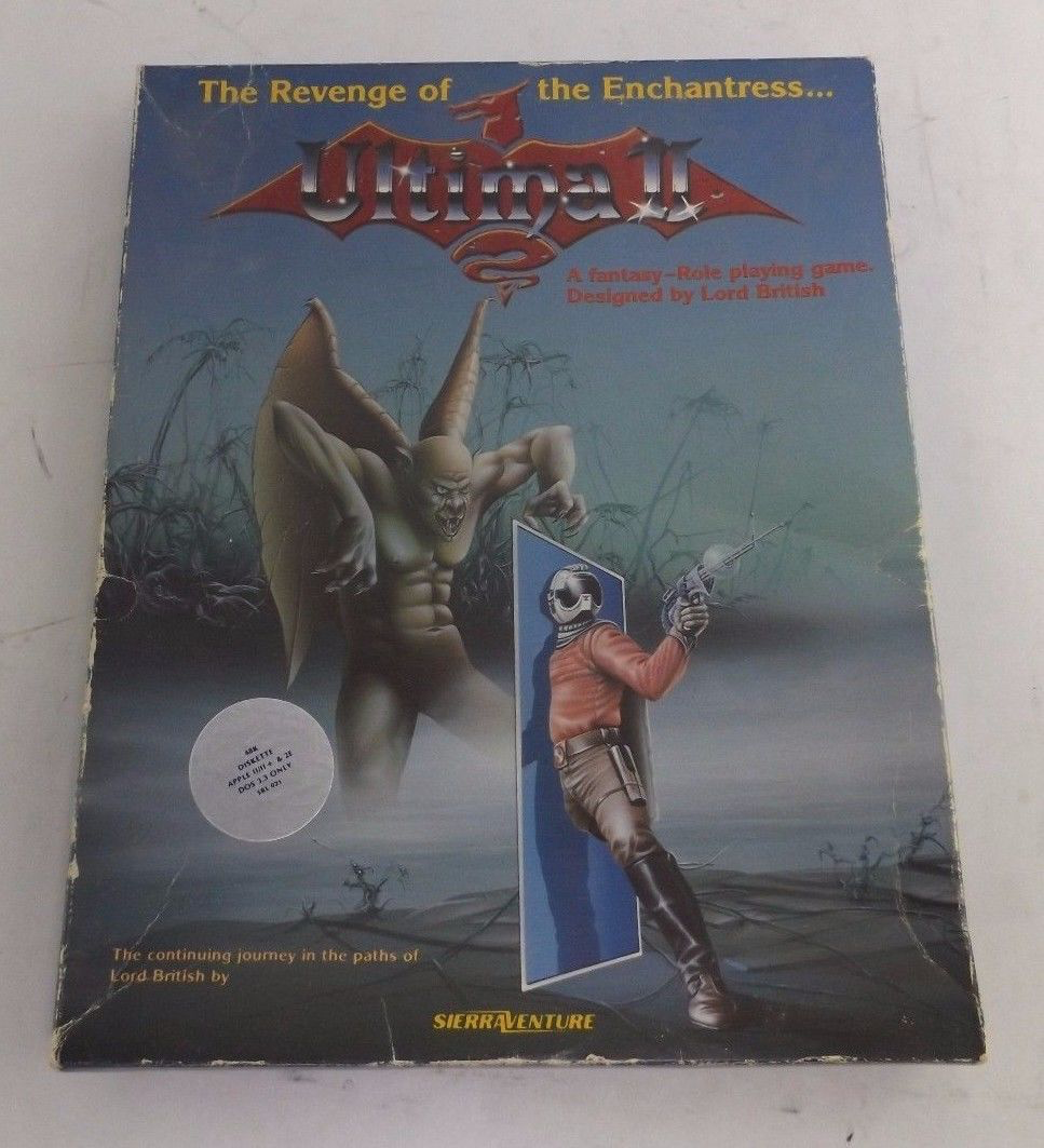 Ultima II, 1982, Origin Systems. Published by Sierra Online.