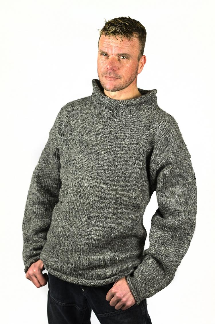 Heren Pullover Grey