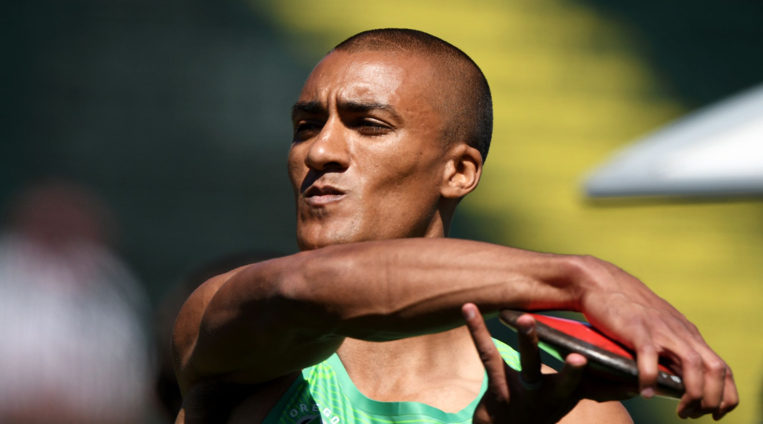 Ashton Eaton won his second straight decathlon title at trials and will look to defend his Olympic gold medal in the event in Rio.