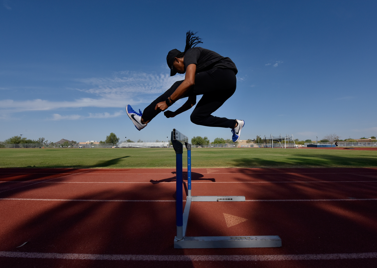 "He owns the world record in the 110 hurdles and won the Olympic gold medal in the event in 2012, yet Merritt calls the hurdles ""your worst enemies.'' But recovering from his kidney transplant was as challenging as anything he had faced."