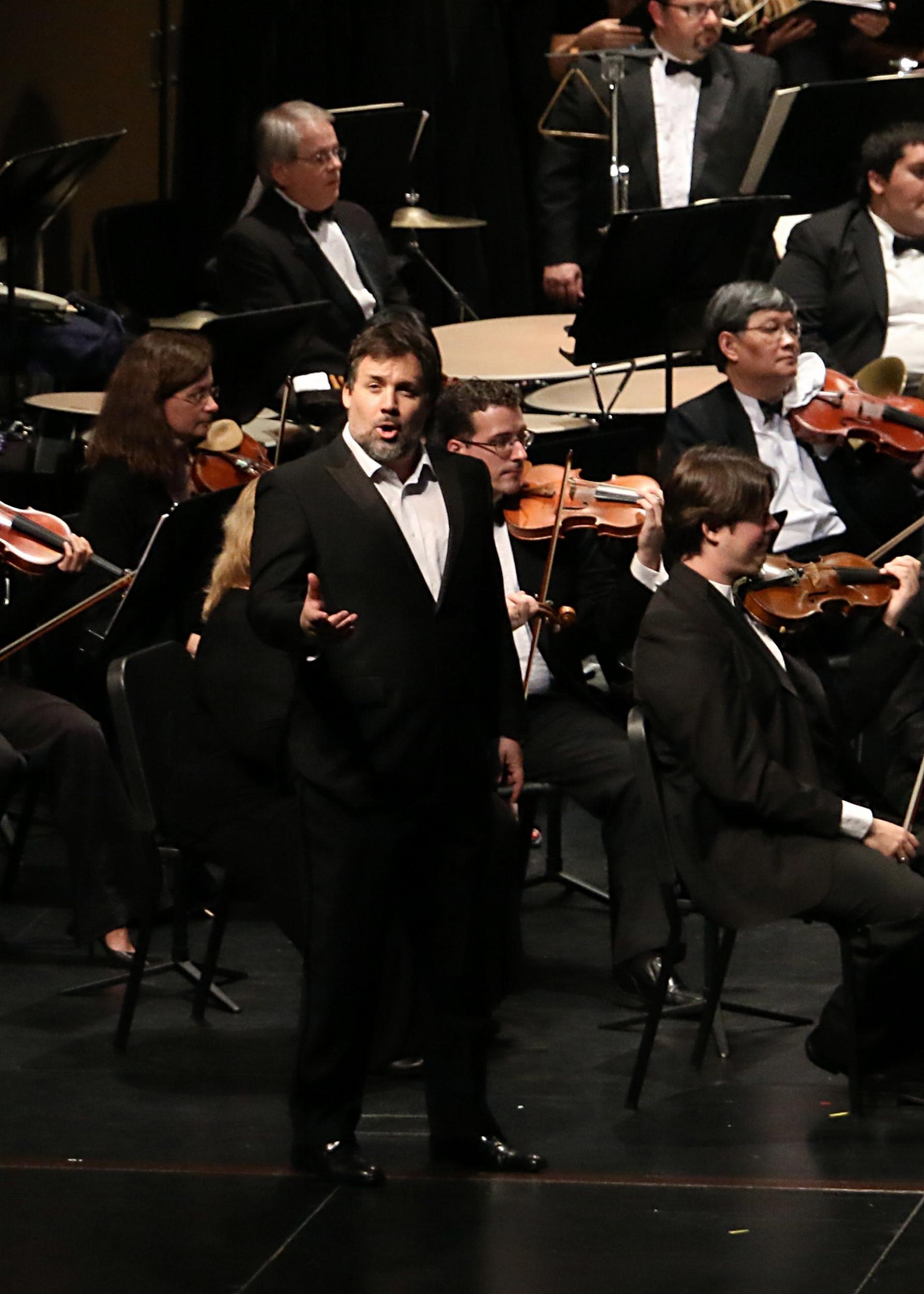 Performing Carmina Burana with the Victoria Symphony