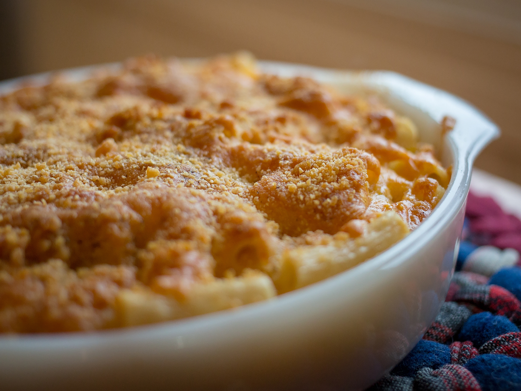 RECIPE: Mac & 4 Cheese Casserole -