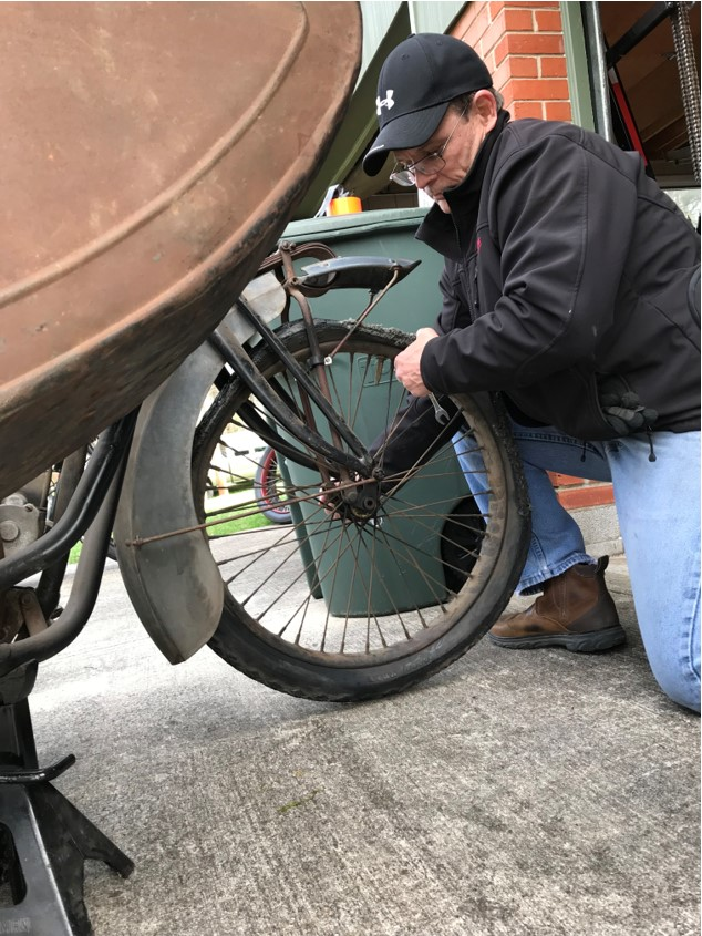 Doug Removing Front Wheel