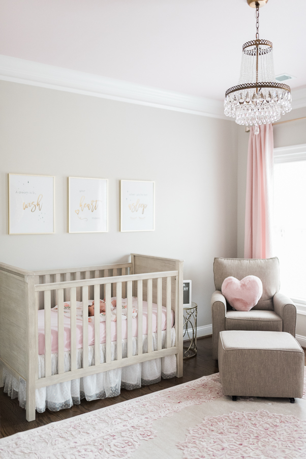 Baltimore-newborn-photographer-little unicorn-nursery-restoration hardware baby-pink and grey room-photo by Breanna Kuhlmann-BKLP-Maryland lifestyle photography  -8.jpg