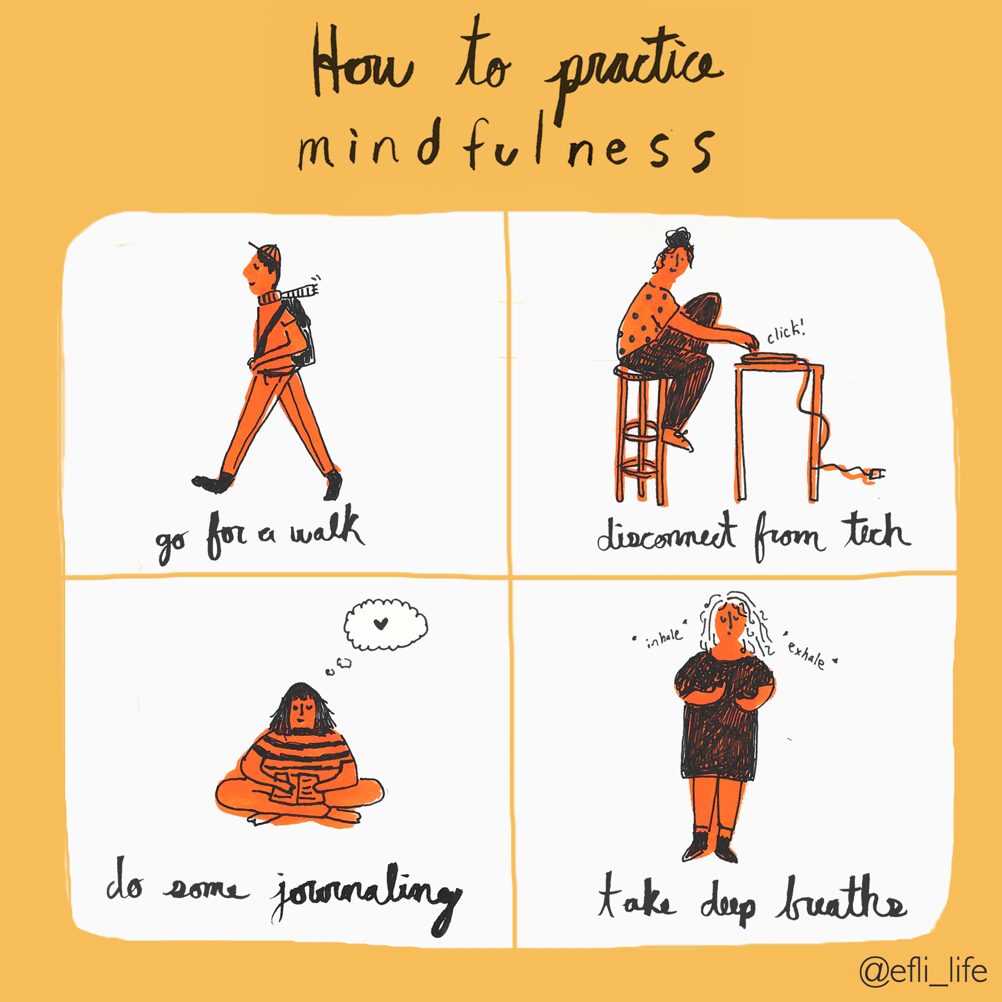 How to Practice Mindfulness by Grace Ludmer