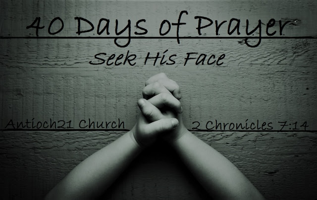 Join us as we're entering 40 days of trusting God to do big things in and through our lives.