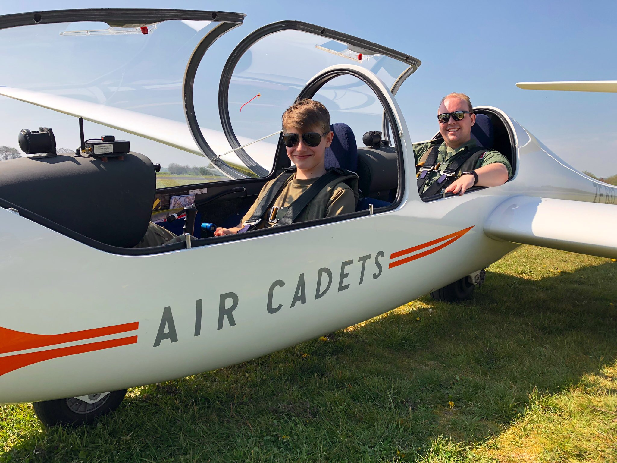 Interested in flying and gliding?   Take to the skies!    Find Out More