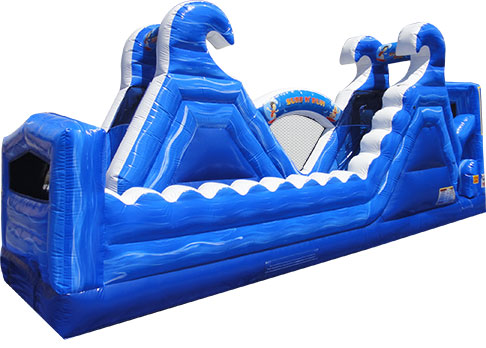 SURF N RIDE SLIDE (180 Degree Double Slide) -