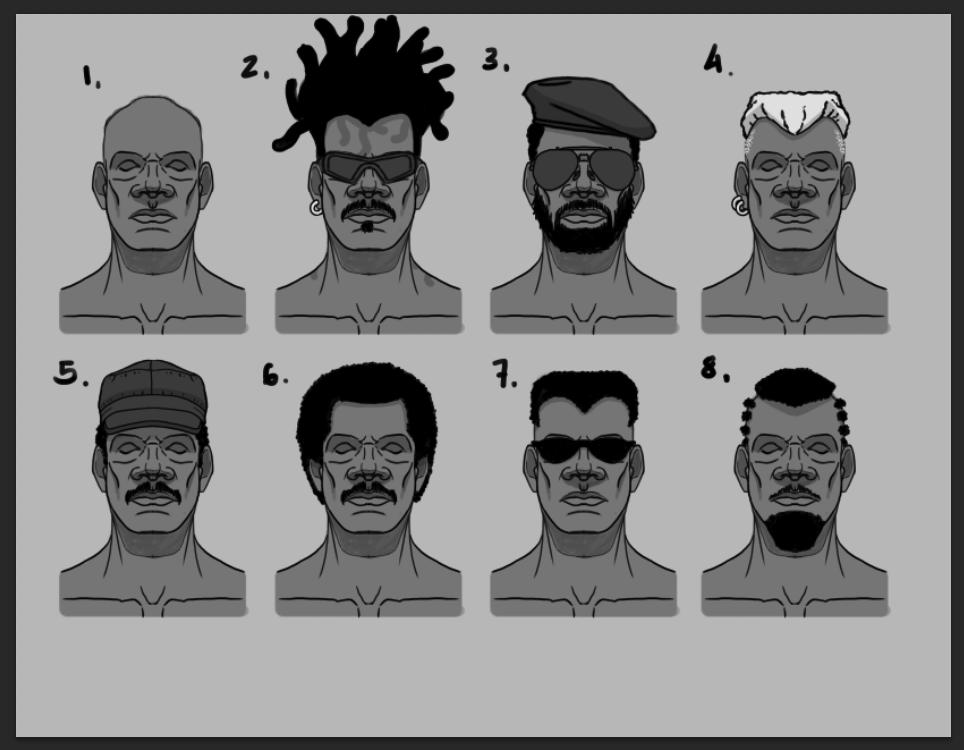 African Head Customization