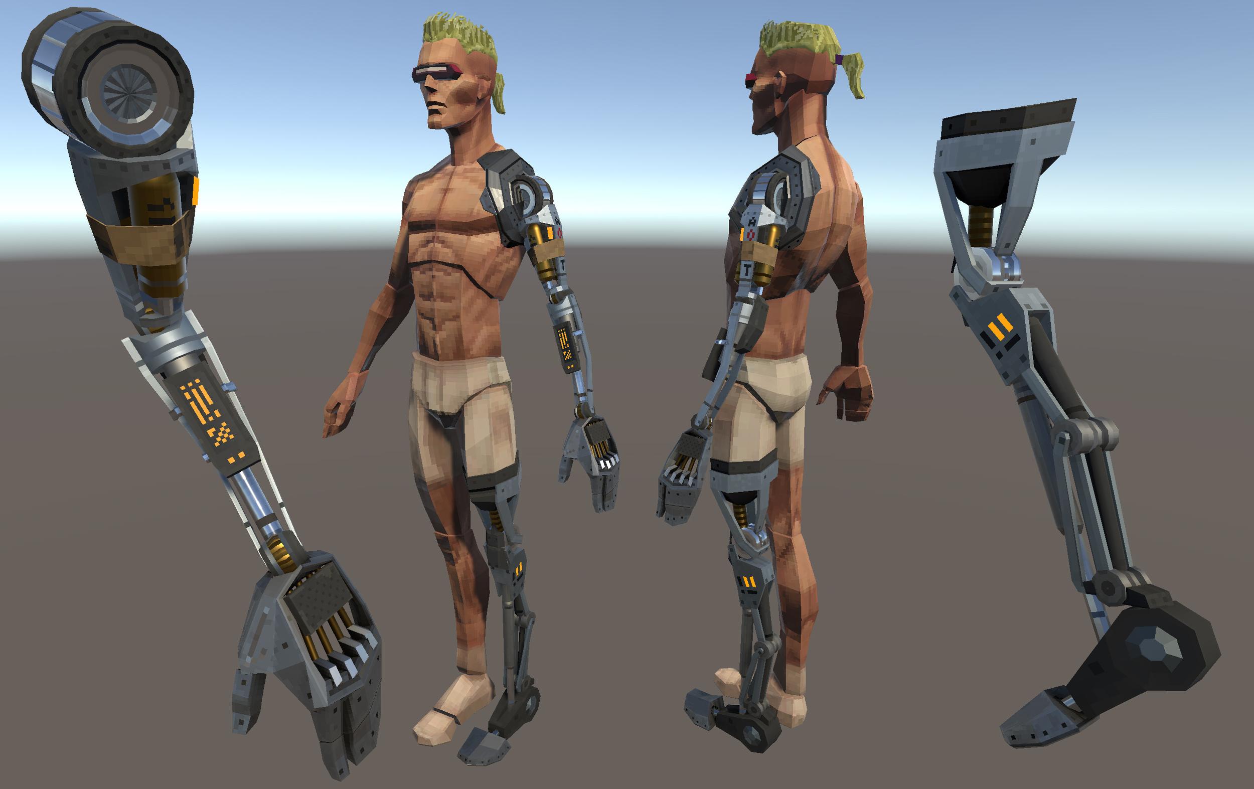 Cybernetic Limbs
