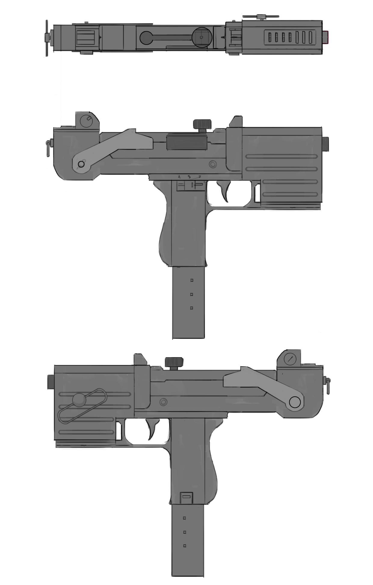 Machine Pistol Final Concept