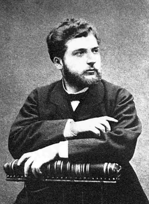 Georges Bizet studio photograph circa 1800; https://en.wikipedia.org/wiki/Georges_Bizet.