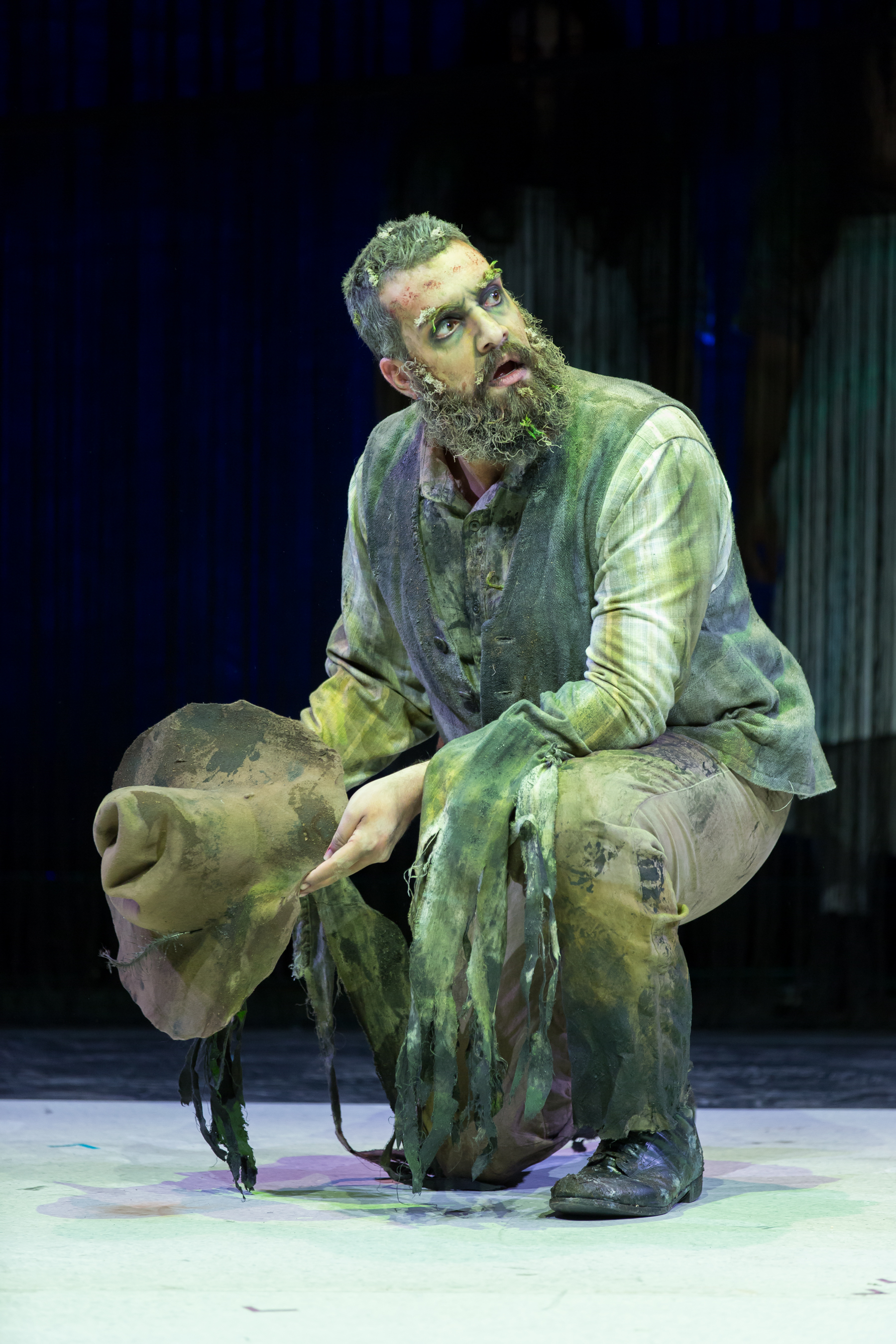 Timothy Bruno as The Sodbuster. Photo by Scott Suchman; courtesy of Washington National Opera.