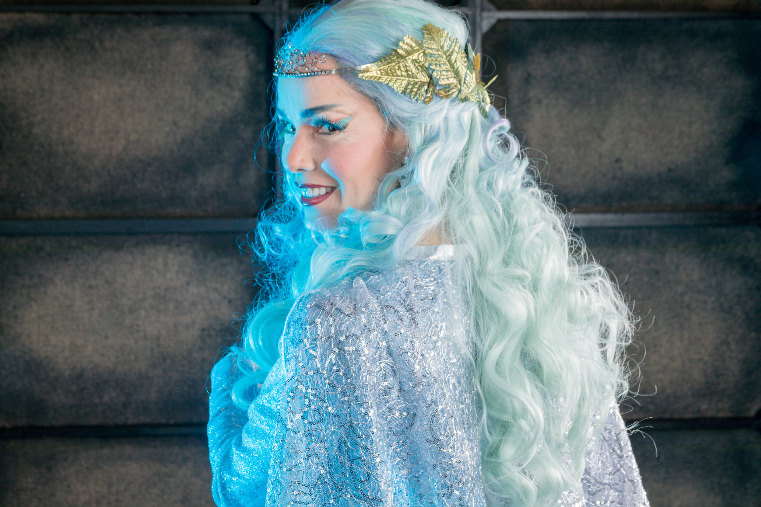 Heather Buck as Tytania, Queen of the fairies. Photo by Ben Schill Photography; courtesy of Virginia Opera.