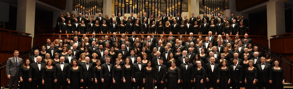 The Choral Arts Society of Washington; photo by Russell Hirshorn and courtesy of the National Symphony Orchestra.