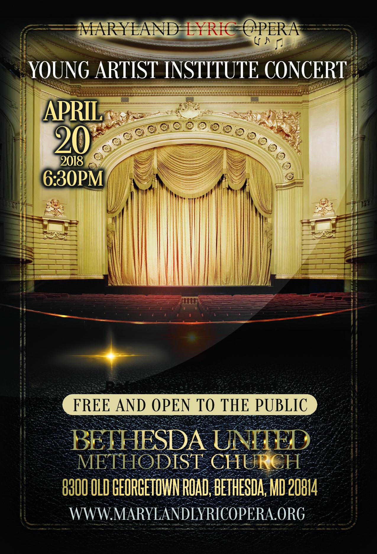 Poster image courtesy of Maryland Lyric Opera.