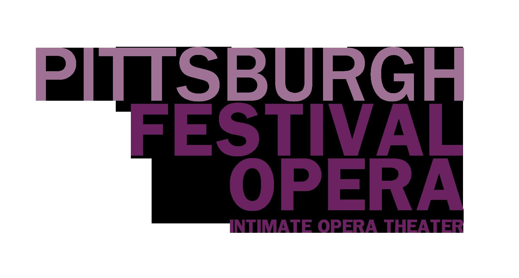 Logo courtesy of Pittsburgh Festival Opera