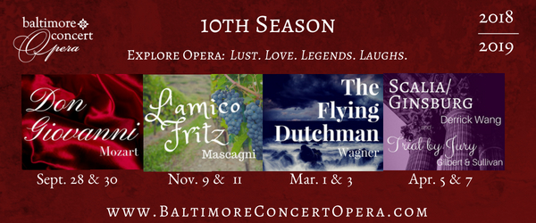 Season banner courtesy of Baltimore Concert Opera
