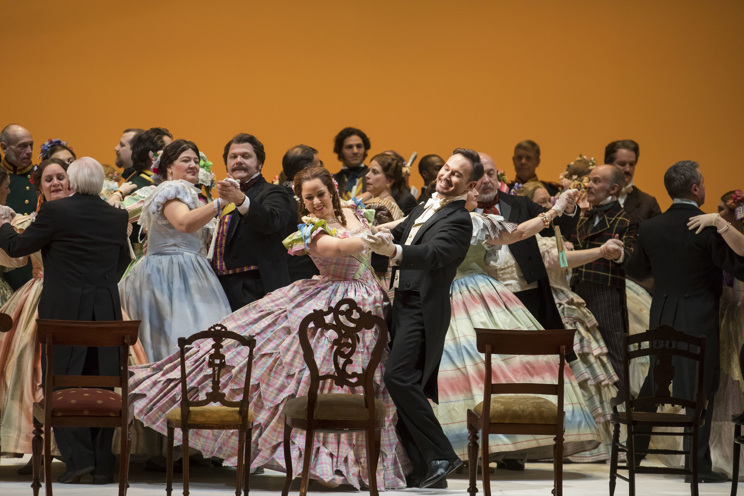 Stock photo of Eugene Onegin. Photo by Todd Rosenberg; courtesy of Washington National Opera.
