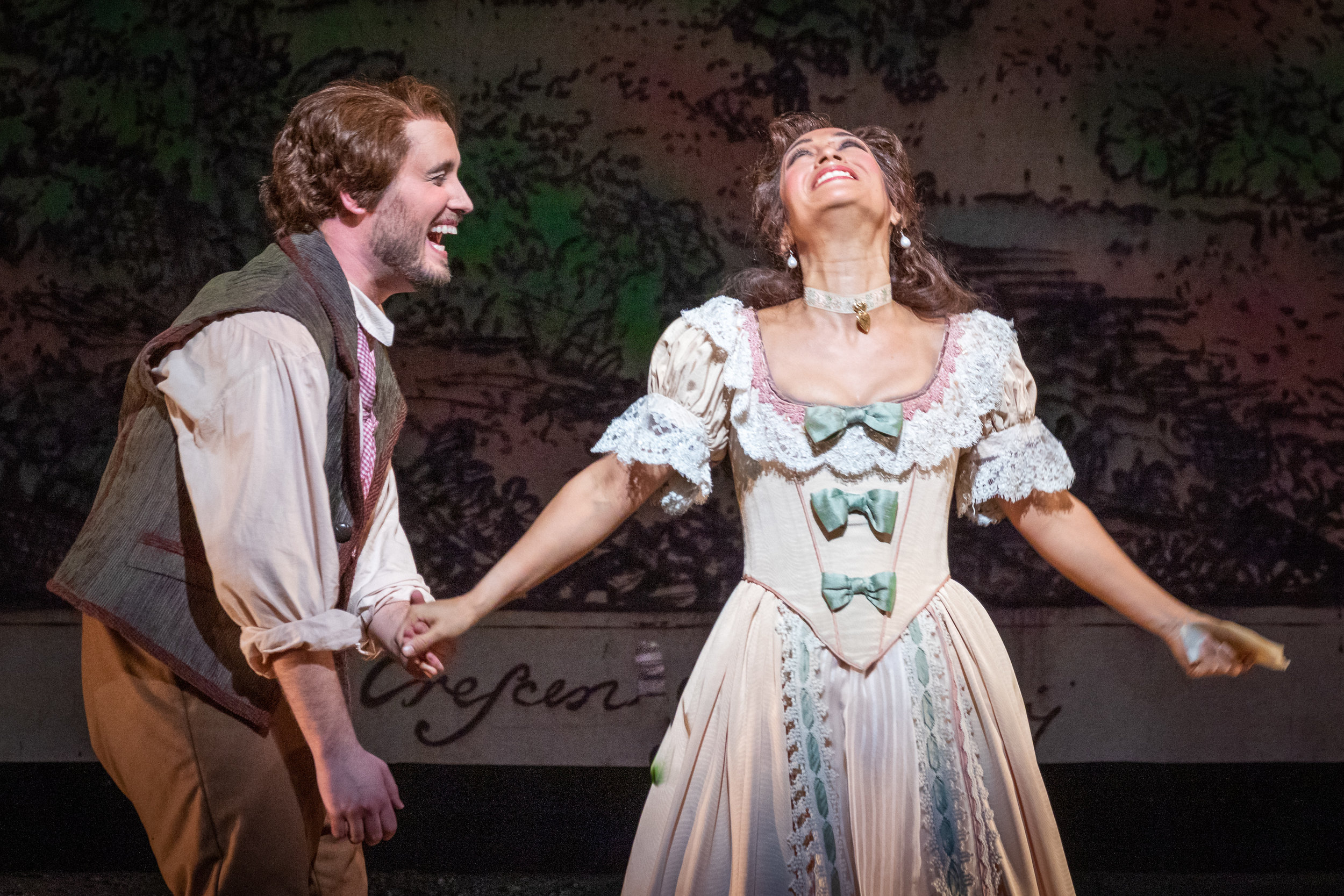True love triumphs and happiness reigns. Photo by Ben Schill Photography; courtesy of Virginia Opera.