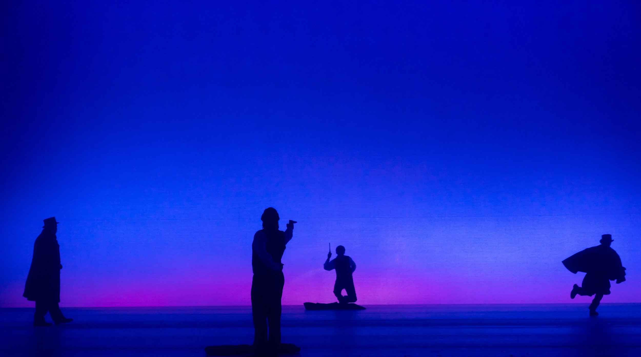 The duel scene in  Eugene Onegin . Photo by Scott Suchman; courtesy of Washington National Opera.