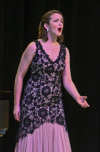 Third Prize winner, mezzo-soprano, Kelsey Roberston. Photo by Mike Halbig; courtesy of Annapolis Opera.