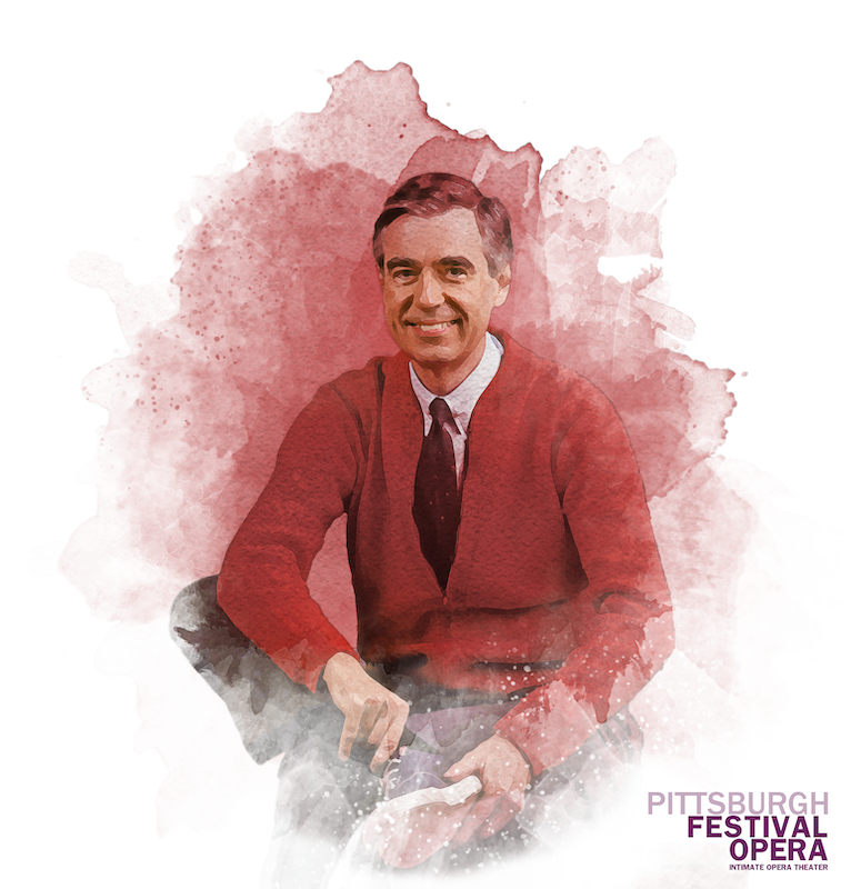 "Artwork for ""Mr. Rogers' Operas""; courtesy of Pittsburgh Festival Opera."